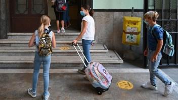 Se reinician las clases presenciales en Italia