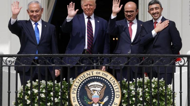 Trump prevé más acuerdos de paz de países árabes e Israel
