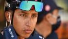 Egan Bernal se despide del Tour de Francia