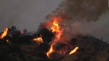 El humo de incendios forestales en EE.UU. llega a Europa
