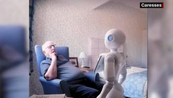 Robots parlantes, aliados contra la soledad en la tercera edad