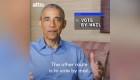 Obama convoca a jóvenes a votar en elección presidencial