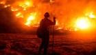 La amenaza del incendio Bobcat en California