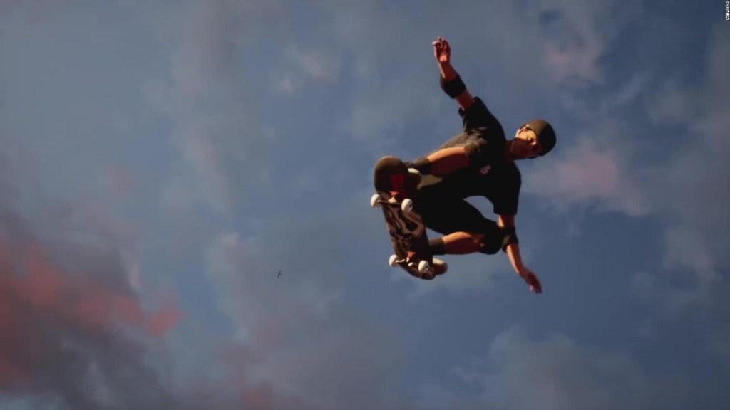 Así es la nueva versión de Tony Hawk's Pro Skater
