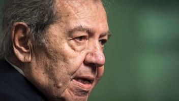"Porfirio Muñoz Ledo: ""Mi lema es decencia, congruencia, lealtad"""