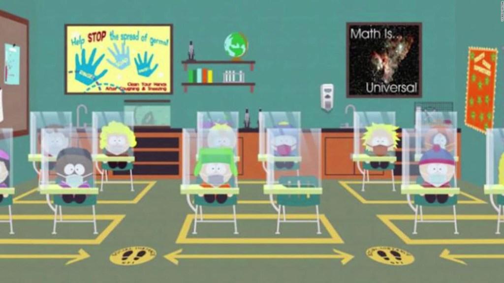 """South Park"" le dedica un episodio al nuevo coronavirus"