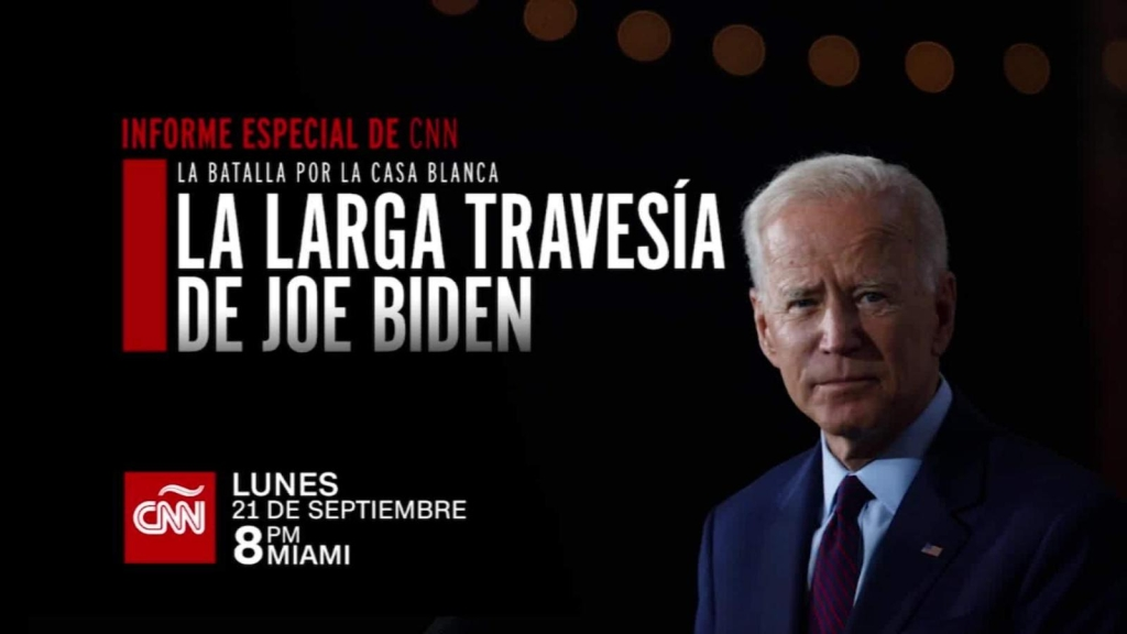 CNN presenta: La larga travesía de Joe Biden
