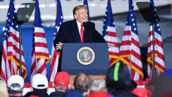 Trump intenta reescribir la historia del coronavirus