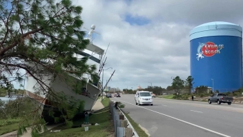 Mira el rastro de daños causados por el huracán Sally