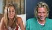 Pitt y Aniston recrean apasionante escena de una comedia