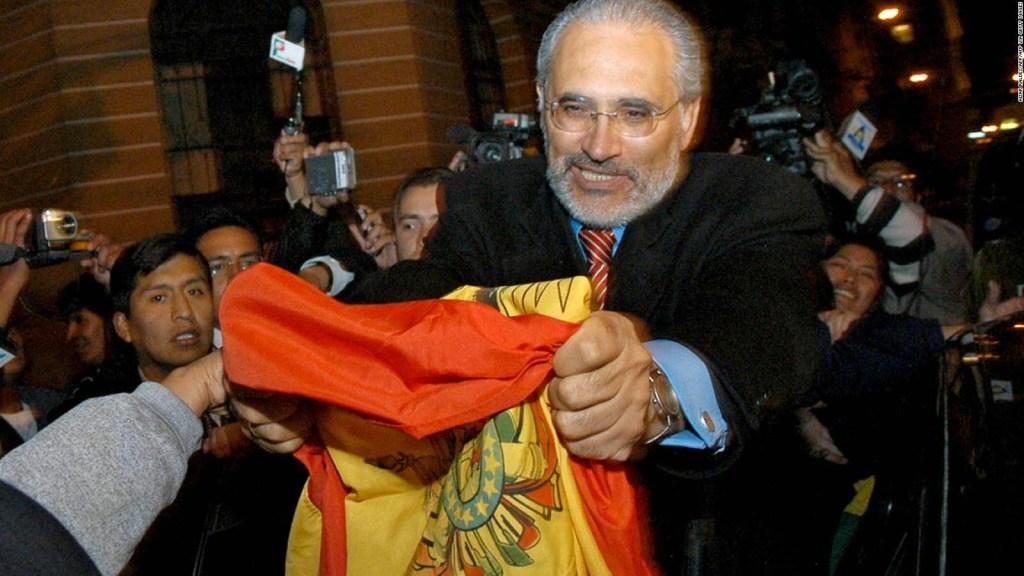 ¿Renunciaría Carlos Mesa si gana la presidencia de Bolivia?
