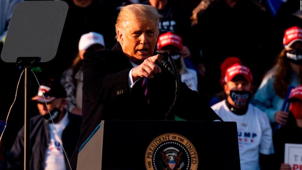 Trump desoye críticas y última voluntad de jueza Ginsburg