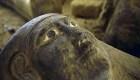 Descubren 27 sarcófagos sellados en Egipto