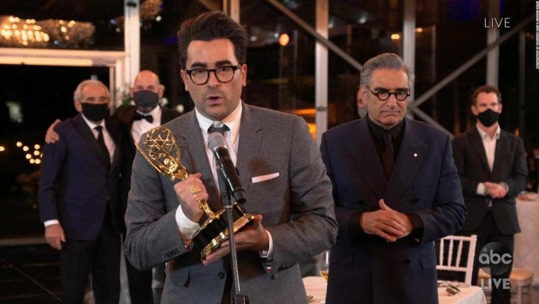 Mira algunos de los mejores discursos de los Emmy 2020