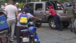 Enfrentamientos y protestas por escasez de gasolina