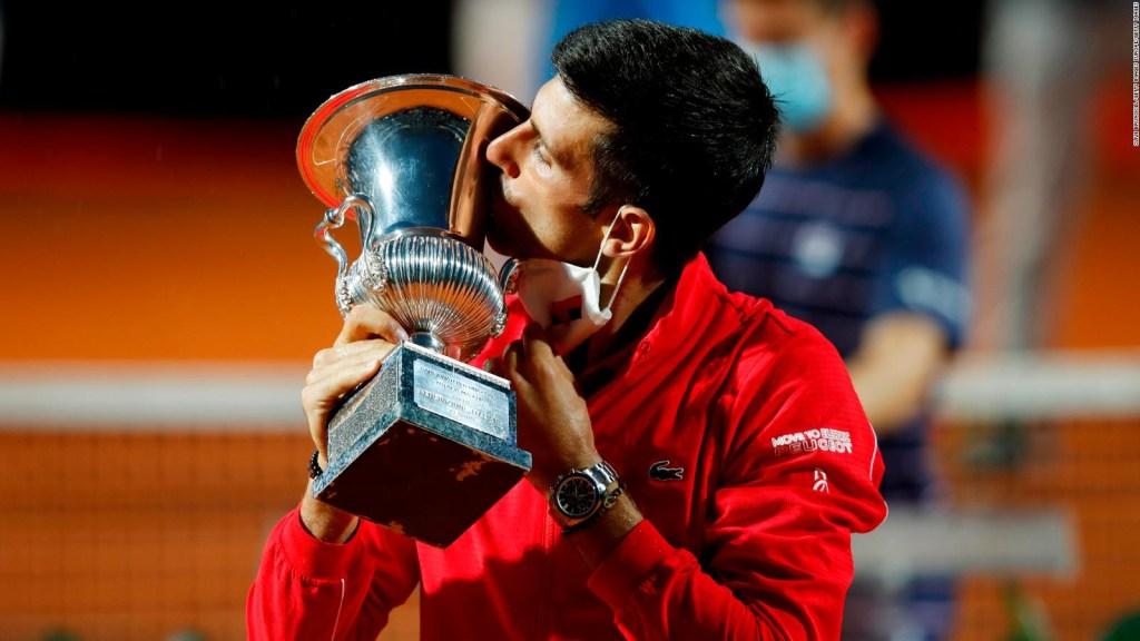 Djokovic llegará a Roland Garros con un nivel altísimo