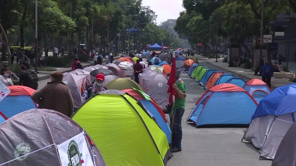 Así responde el gobierno a manifestaciones contra AMLO