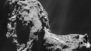Fascinante descubrimiento de la NASA involucra a un cometa