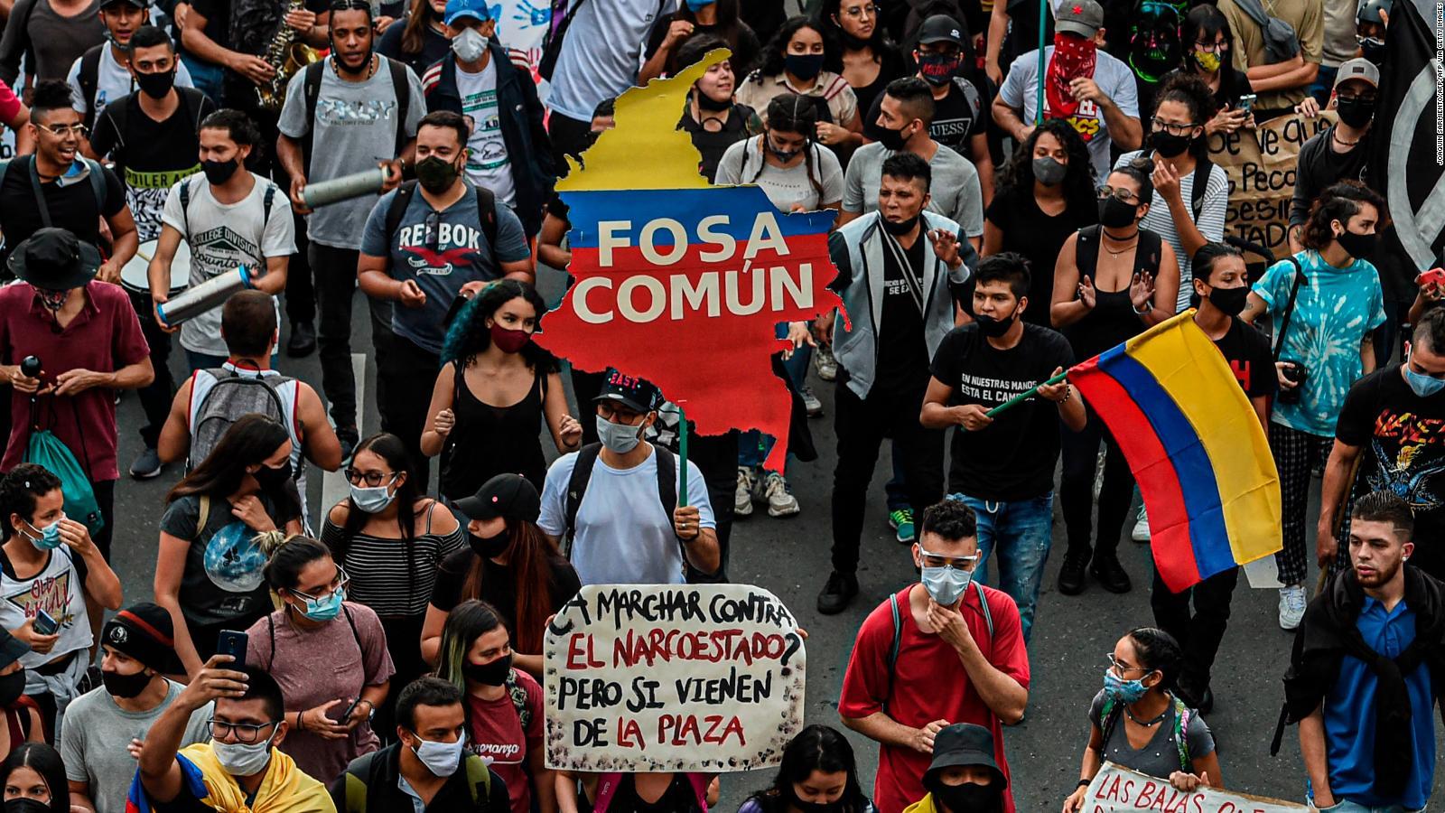 Jornada de protestas contra la brutalidad policial en Colombia | Video | CNN