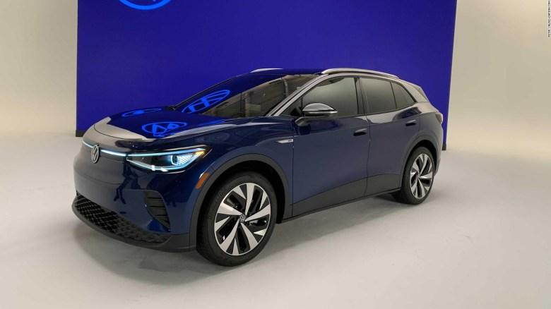 Volkswagen presenta el ID.4, su primer SUV eléctrico