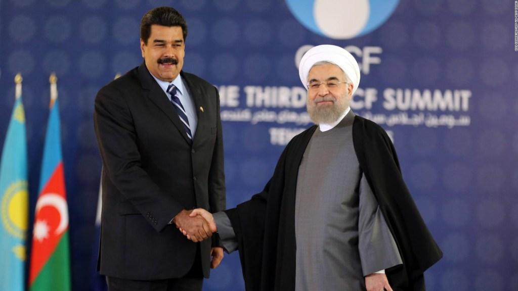 ¿Cómo se relacionan las sanciones a Irán con Maduro?