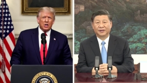 Esto dejaron los discursos de Trump y Jinping en la ONU
