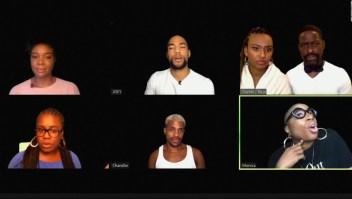 """Recrean capítulo de """"Friends"""" con elenco de actores negros"""