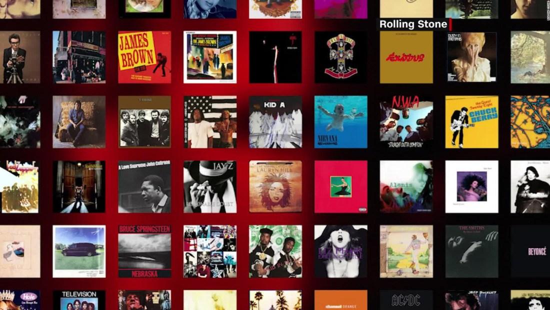 Rolling Stone actualiza lista de los 500 mejores discos