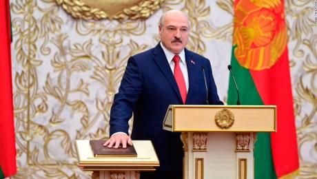La UE dice que Lukashenko no es el presidente legítimo de Belarús