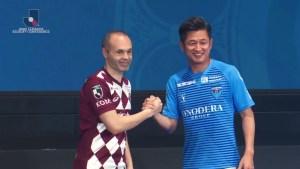 Futbolista Kazuyoshi Miura cumple 5 décadas en el deporte