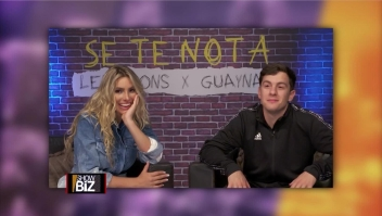 "Lele Pons y Guaynaa presentan ""Se te nota"""