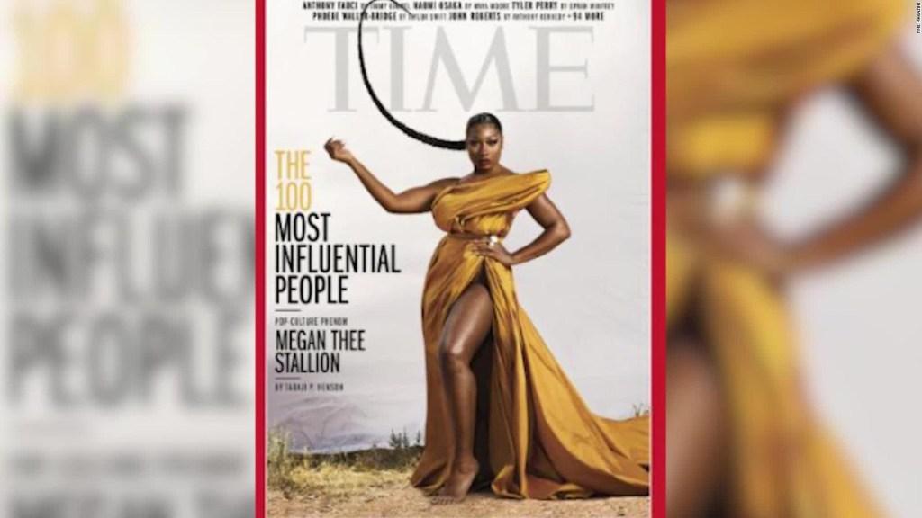 Megan Thee Stallion, entre los 100 más influyentes de Time