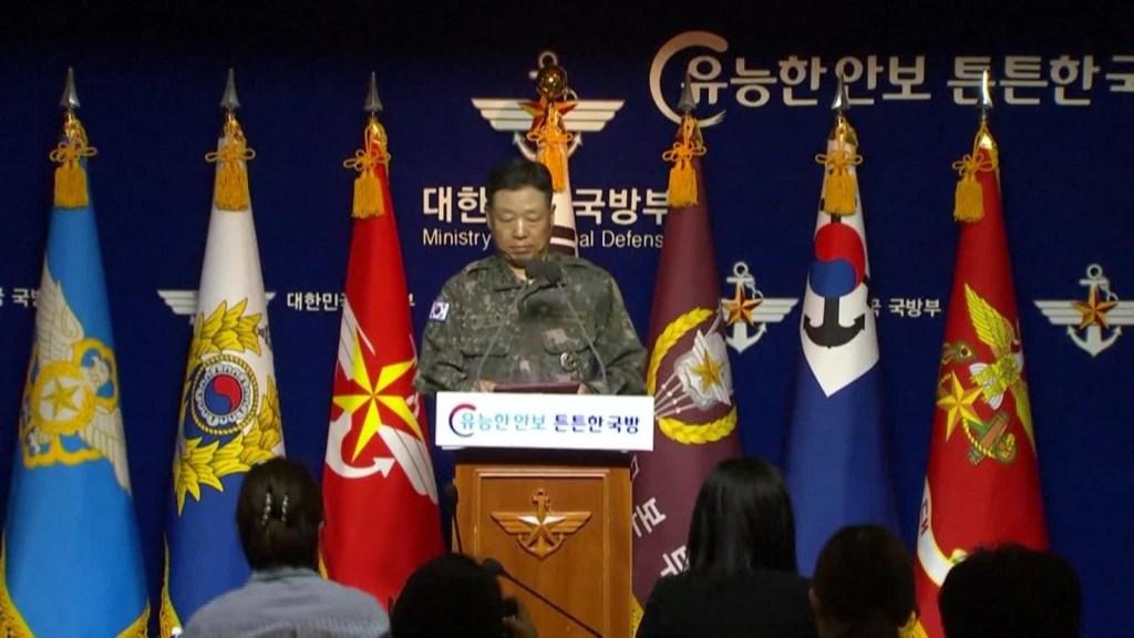 Corea del Sur exige disculpa de Corea del Norte