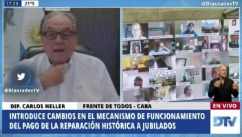 Escándalo en el Congreso de Argentina