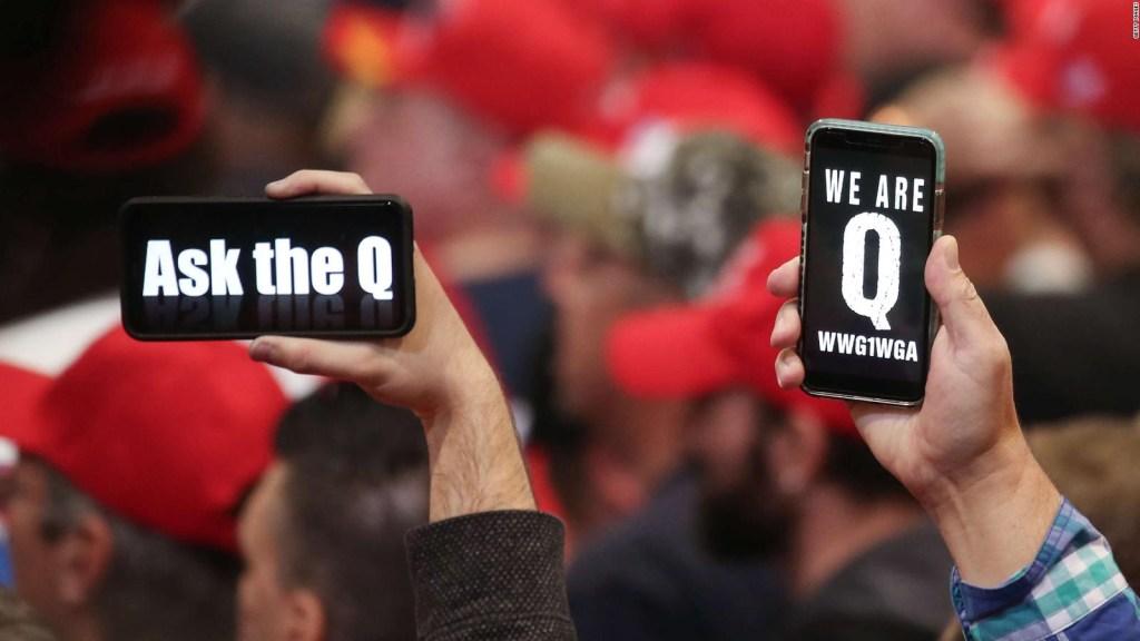 ¿Podría QAnon involucrarse en fraude electoral en EE.UU.?