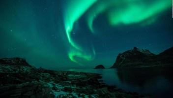 Las imágenes más espectaculares de la aurora boreal en 2020