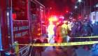 Camioneta atropelló a un manifestante en Los Ángeles