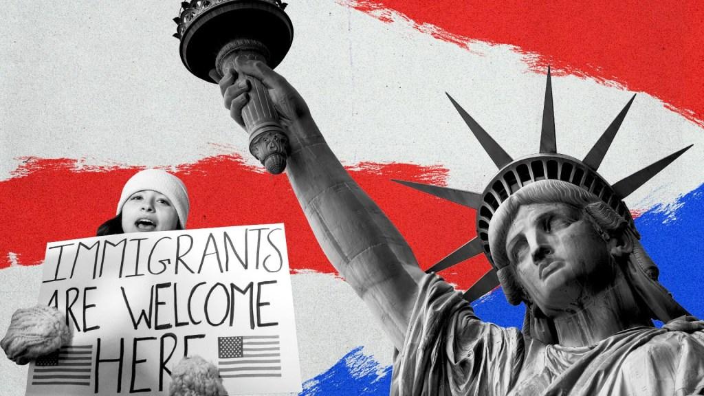 Así piensan Trump y Biden sobre la inmigración