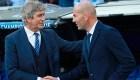 Zidane llena de elogios al chileno Pellegrini