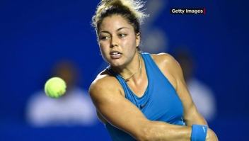 Renata Zarazúa y su importante logro para el tenis mexicano