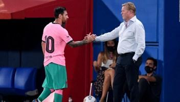Messi quiere un Barcelona unido: así reaccionó Koeman
