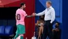 Messi y el FC Barcelona buscan mejorar su imagen