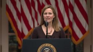 Trump designa a Amy Coney Barrett para la Corte Suprema de EE.UU.