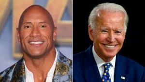 """""""The Rock"""" respalda a Joe Biden y Kamala Harris"""