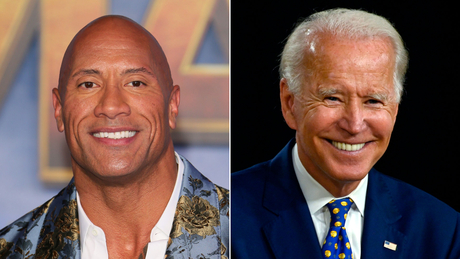 """The Rock"" respalda a Joe Biden y Kamala Harris"