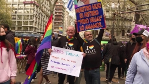Uruguay celebró Marcha por la Diversidad Sexual en medio de la pandemia
