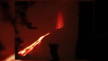 El volcán Pacaya entró en actividad
