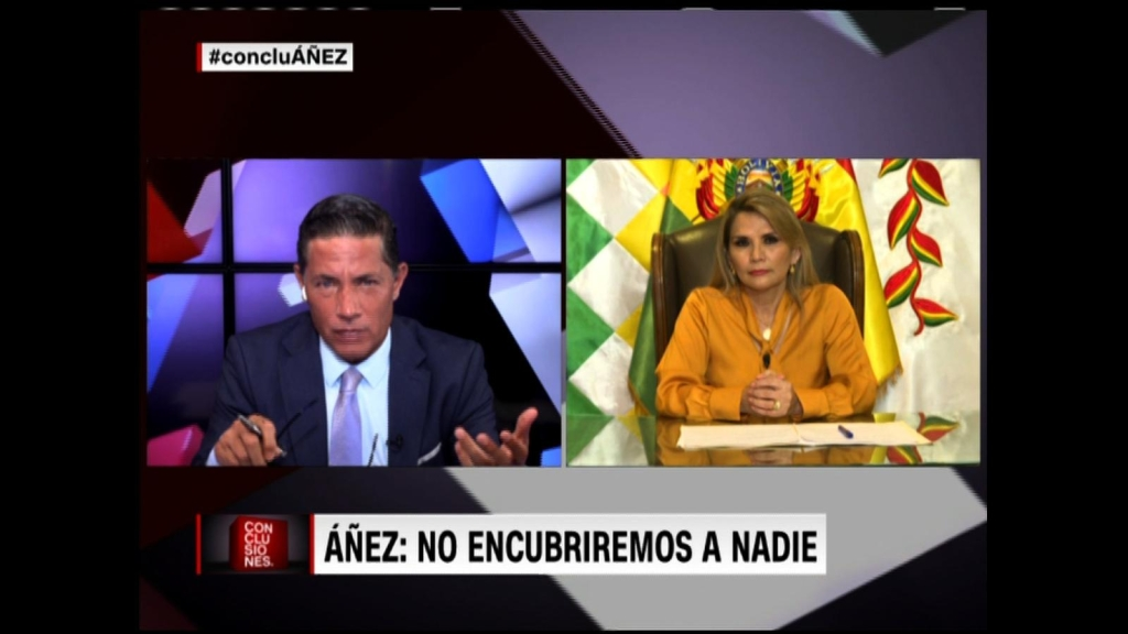 Áñez dice que su gobierno enfrentaría a la justicia de ser señalado por corrupción