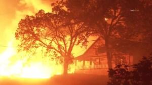 Incendios en California arrasan la zona vinícola
