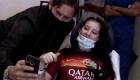 Francesco Totti y su emotiva visita a una aficionada que estuvo en coma